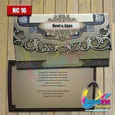 WEBSTA @ undangananugrah - Blangko undangan pernikahan murah terbaru NUVOLA NC 16Ready stock aneka blangko undangan