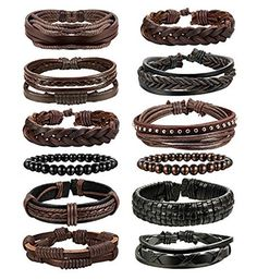 Braid Bracelet DIY Ideas Using Leather, Fabric, and More! – Moms and Crafters Bracelet En Cuir Diy, Leather Bracelet Tutorial, Diy Braids, Cool Braids, Yarn Bracelets, Bracelets For Men, Diy Braided Friendship Bracelets, Braided Leather Bracelets, Diy Tresses