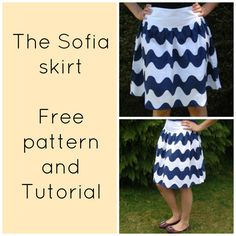 Sofia skirt - free pattern sizes 4- 22!