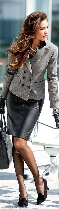 Trajes de trabajo de moda para las mujeres (15)