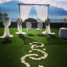 WEDDING  C & C. 20.09.14 SET UP BLISS EVENT. SWITZERLAND. MONTREUX: PALACE  www.bliss-eventdesigner.com