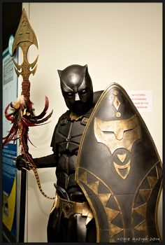 2014 San Diego Comic-Con Cosplay - BLACK PANTHER