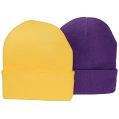 More Information Evil Minion Purple & Minion Yellow / 2 Pack of Beanies for Halloween Gifts Idea for  #Halloween Gifts Idea Shoppers