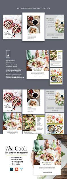 15 Best Cookbook Template images Cookbook template, Recipes
