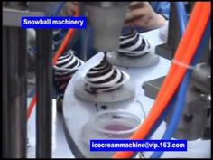 Rotary ice cream filling machine-cup and cone filling machine