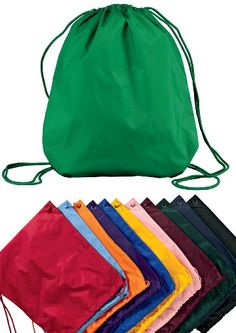 Port Authority Basic Drawstring Backpack $1.99 #topseller