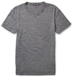 Dolce & Gabbana Fine-Knit T-Shirt