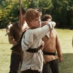 I thought that was Thomas for like 5 seconds and the. I watched it again and I was ok phew! YOU GO NEWT *blushes*