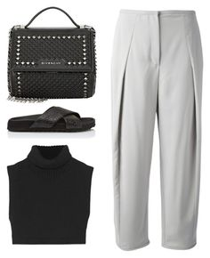 """Untitled #4194"" by michelanna ❤ liked on Polyvore featuring Givenchy, Victoria Beckham and Emporio Armani"