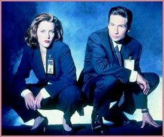 The X Files. TV show and movies.