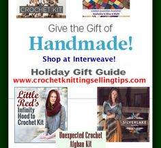 For a limited time! You can put in the code to get off your entire order. Best Gifts for Crocheters: What Every Crocheter off! For a limited time! You can put in the code to get off your entire order. Crochet Granny, Easy Crochet, Crochet Kits, Crochet Patterns, Afghan Crochet, Crochet Tutorials, Christmas Knitting, Crochet Christmas, Present Gift
