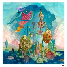 charlie immer, candy, colorful, anatomy, skull, skeleton, bones, upper playground