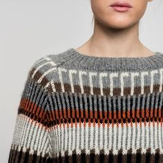 Öland is known for their beautiful knitting patterns. Our Öland style is a… Fair Isle Knitting Patterns, Knitting Designs, Knit Patterns, Tejido Fair Isle, How To Purl Knit, Knit Picks, Hand Knitting, Ravelry, Knit Crochet