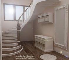 Design in stil shabby chic pentru o vila din Slobozia - Art Deco Zone & Knox Design - Amenajari interioare Bucuresti