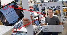 Mark Zuckerberg fights hackers with duct tape