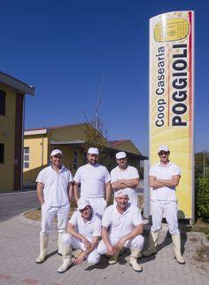 Lo Staff #caseificiopoggioli #parmigianoreggiano