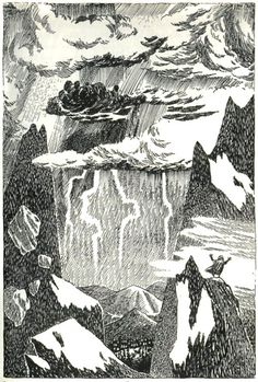 In 1962, shortly before she received the prestigious Hans Christian Andersen award, beloved Swedish-speaking Finnish artist, writer, and Moomin creator Tove Jansson illustrated a Swedish edition of The Hobbit. Janssen was at the peak of her career and brought to the Tolkien classic her signature touch of subtly wistful whimsy.