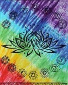 ift.tt/2qWDaw0. Gorgeous Chakra Lotus tapestry $25.16 #chakrahealing #chakra #pagan #wiccan #witch #neweage #newproducts