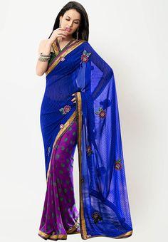 #Saree - #SAREES - #jabongworld #indianethnic #ethnic #indiansaree #fabdeal