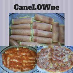 Canelone low carb super fácil!