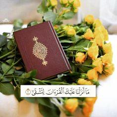 Lockscreen Iphone Quotes, Quran Sharif, Quran Wallpaper, Book Flowers, Muslim Beauty, Quran Verses, Holy Quran, Good Thoughts, Malaga