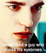 Lol Robert pattinson quotes about his hate for twilight. I have found some respect for this guy again!