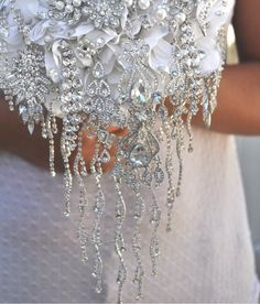 """The """"In Cascata"""" by Blue Petyl #wedding #bouquet #cascading. Get inspired with diyweddingsmag.com"""