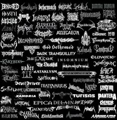 Benighted, Abnormality, Behemoth, Absurd, Agalloch, Dimmu Borgir, Daath, Arsis, Incantation, Bloodbath, Napalm Death, Dissection, Carach Angren, Deicide, Aeon, Dying Fetus, Fleshgod Apocalypse, Bloodshot Dawn, Equilibrium, Falkenbach, Sinister, Archspire, Allegaeon, Chthonic, Obscura, Decapitated, Carcass, At the Gates, Finntroll, Hypocrisy, God Dethroned, Kalmah, Ensiferum, Necrophagist, Dark Tranquillity, Karybdis, Be'lakor, Insomnium, Ensiferum, Paths of Possession, Vader, The Duskfall…