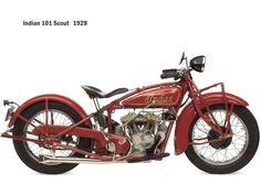 101 Scout (1928) by Indian Motorcycle