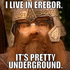 Lol, hipster LotR.
