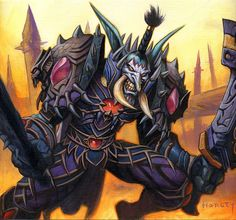 Vengeful Gladiator rogue