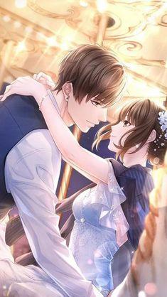 Romantic Anime Couples, Anime Couples Drawings, Anime Couples Manga, Desenhos Love, Anime Cupples, Anime Wedding, 8bit Art, Cute Anime Coupes, Familia Anime