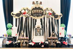 Dessert Tablescape | Alice and Wonderland Wedding | Wedluxe