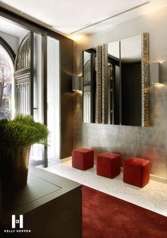 The Hotel Murmuri in Barcelona design by Kelly Hoppen Interiors Beautiful Interior Design, Beautiful Interiors, Interior Design Inspiration, Interior Ideas, Interior Exterior, Interior Architecture, Kelly Hoppen Interiors, Home Decoracion, Hospitality Design