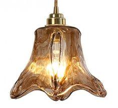 lampa ze szkła ręcznie wyrabianego Decorative Bells, Art Deco, Retro, Home Decor, Homemade Home Decor, Decoration Home, Room Decor, Interior Design, Home Interiors