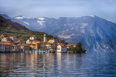 Monte Isola, Italy Several small fishing towns, ports, and olive-and-grape villages dot this tranquil, traffic-free island in Lake Iseo.  Photo: efilpera