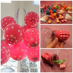 Balloon Pinata!!! So doing this for my daughter's Birthday! Works perfect for…