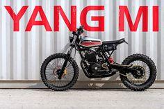 Garaje fabricación: Una costumbre Honda XR600R de Francia
