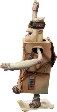 Animation Art:Maquette, The Boxtrolls Sparky Original Animation Puppet (LAIKA,2014).... Image #4