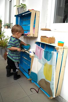 DIY kid´s kitchen