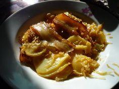 Savanyú káposztás-krumplis egytál Chili, Sandwiches, Food Porn, Paleo, Food And Drink, Soup, Beef, Chicken, Recipes