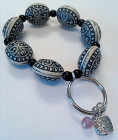 Keychain Bracelet on Etsy, $12.00