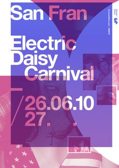 Poster - Electric Daisy Carnival