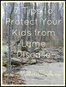 Prevent Obesity In Kids 7 Tips to Protect Your Kids From Lyme Disease - And Yourself, Too - The most important way to protect your kids from Lyme Disease is knowledge. Here are some tips for things you can do to protect your family from Lyme. Health And Wellness, Health Tips, Deer Ticks, Walk In The Woods, Healthy Living Tips, Kids Health, Chronic Illness, Health Problems, Good To Know