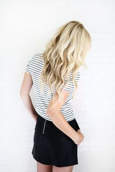 How to Create Mermaid Waves | A Beautiful Mess | Bloglovin'