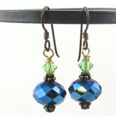 Seattle SEAHAWK 12th Man Earrings  Ready to Ship by jemsjewelry, $12.00