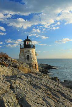 ✮ Castle Hill Lighthouse - Newport, Rhode Island