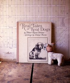 Vintage Real Tales of Real Dogs Book with etchings by CopperAndTin #vintage #dog #book