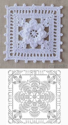 Farmhouse Table Runner Tablecloth Rustic Home Decor Wedding Table Runner New Home Housewarming Gift Country Decor Rustic Kitchen - Her Crochet Crochet Doily Diagram, Crochet Motif Patterns, Crochet Chart, Thread Crochet, Crochet Doilies, Motifs Granny Square, Granny Square Crochet Pattern, Crochet Squares, Granny Squares