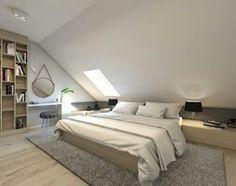 Geräumiges Schlafzimmer mit Dachschräge | Wohnideen fürs ...